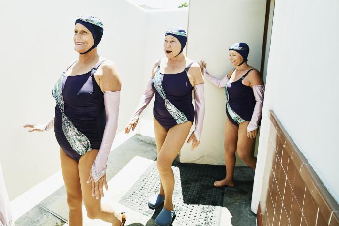 Nuoto Sincronizzato Sport Senza Età Creative Insights