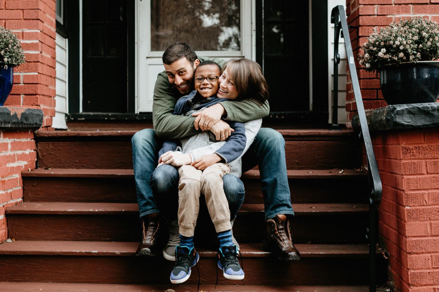 Snapshot Of An Adoptive Family