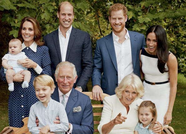 The Prince of Wales Birthday Family Portrait