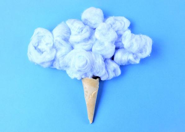 Custom Content - Cloud Ice Cream Concept